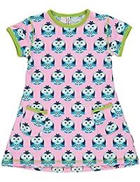 maxomorra Mädchen Tunika Kleid Eulen Modell OWL