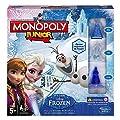Monopoly - Juego de mesa Junior, con diseño Frozen (Hasbro B22471050) de Hasbro