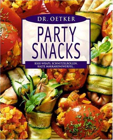 Dr. Oetker Partysnacks: Käse-Wraps, Schnitzelrollen, kalte Makkaroniwürfel