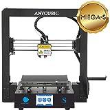 ANYCUBIC MEGA-S Imprimante 3D d'excellente qualité, avec nouvel extrudeur, cadre stable en métal massif et lit chauffant Ultrabase pour filaments de 1,75 mm en TPU, PLA, ABS, ANYCUBIC S (LOGO S), 1
