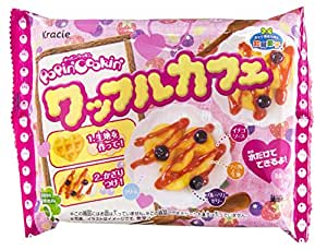 NEW Kracie Popin Cookin Waffle Cafe Diy Happy Kitchen Kit Japan Limited