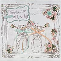 Hallmark Wedding Card 'Hearts Become One' - Large Square