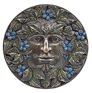 Green Man Beltane Wall Plaque By Nemesis Now