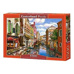 CASTORLAND La Pergola 1500 pcs Puzzle - Rompecabezas (Puzzle Rompecabezas, Ciudad, Niños y Adultos, Niño/niña, 9 año(s), Interior)