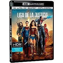 Liga De La Justicia Blu-Ray Uhd