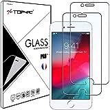 Top4pc [2 Pack] Film Vitre en Verre Trempé pour Apple iPhone 8 / iPhone 7 / iPhone SE 2020 / iPhone 6s / iPhone 6 Protection