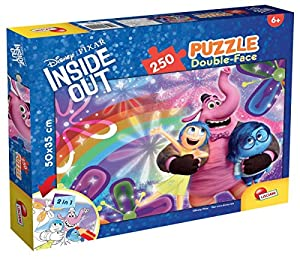 Lisciani Giochi 55579 - Puzzle DF Plus 250 Inside out Joy y Sadness