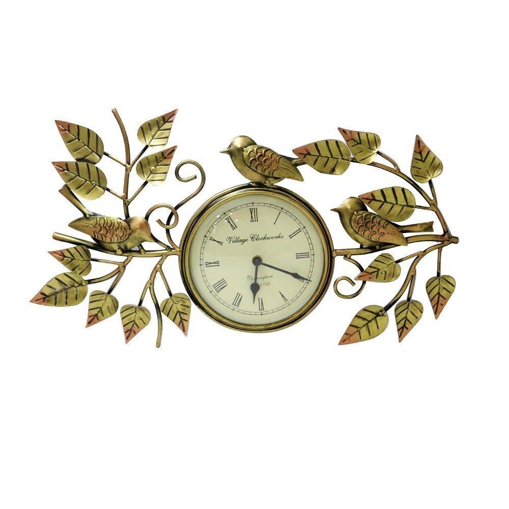 Iron Animal Figure Clock