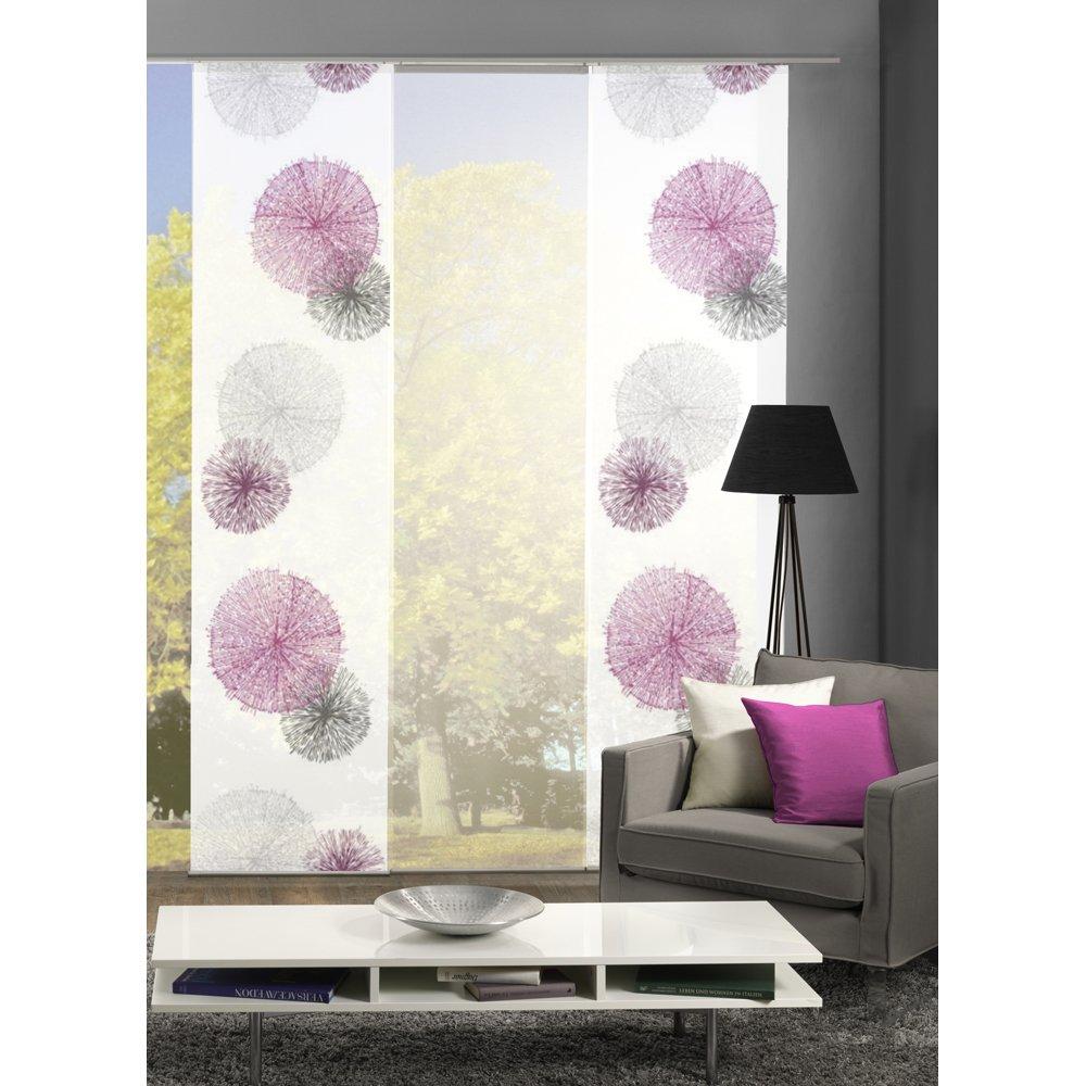 HOME Wohnideen Komplett Fenster Schiebevorhang Scoppio, 3 Er Set, 245x60 Cm  Grün: Amazon.de: Küche U0026 Haushalt