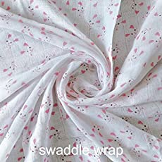 Baby Bucket AC 2 Swaddle Blankets (Pink)