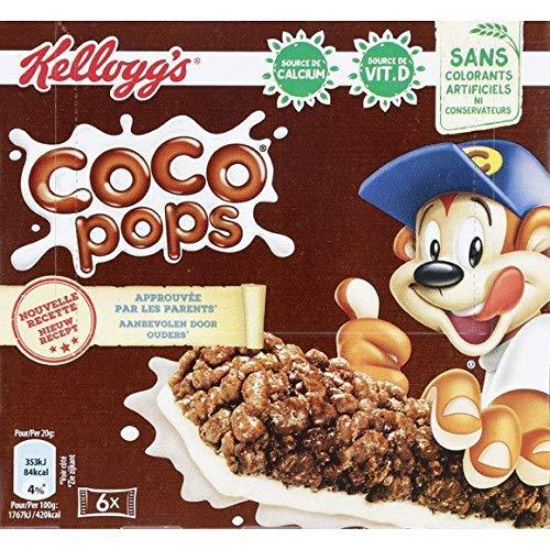 Coco Pops - Barres De Céréales Au Lait, Riz Soufflé Au Chocolat Et Au Lait - 120G - Tarif Dégressif - Option Cadeau