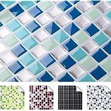 suchergebnis auf amazon.de für: fliesenaufkleber mosaik - Bad Blau Braun