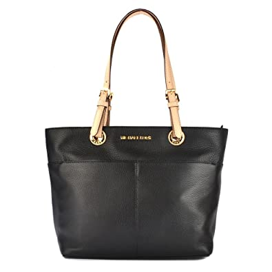 MICHAEL Michael Kors Bedford Black Top Zip Pocket Tote one size Black:  Amazon.co.uk: Shoes \u0026 Bags