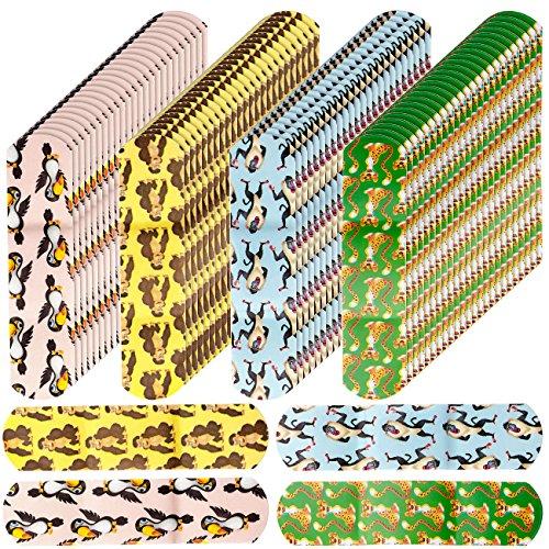 newgen medicals Kinderpflaster: 100er-Pack medizinische Kinder-Pflaster, Tiermotive, hautfreundlich (Pflaster Megapack) -