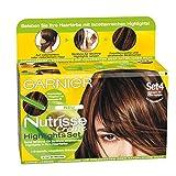 Garnier Nutrisse Creme Highlights Set 5 für Braune bis Kupfer Strähnchen, Strähnen Set, 3er Pack (3 x 1 Pack)