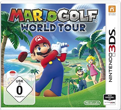 Mario Golf - World Tour - [Nintendo
