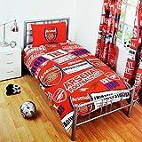 Arsenal Official Single Duvet Set - Mult...