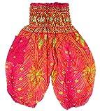 Sarouel 1 / 2 Ans bébé Enfant Pantalon Ethnique Harem pant children aladin boho fille garçon rose pink 6 12 18 24 mois