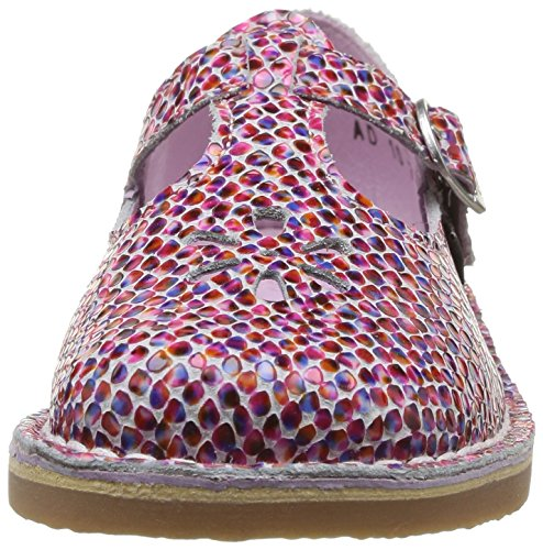 Aster Dingo, Chaussures de ville fille Multicolore