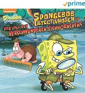 SpongeBob DetectivHosen in der Fall des Verschwundenen Eichhörnchens (SpongeBob SquarePants)