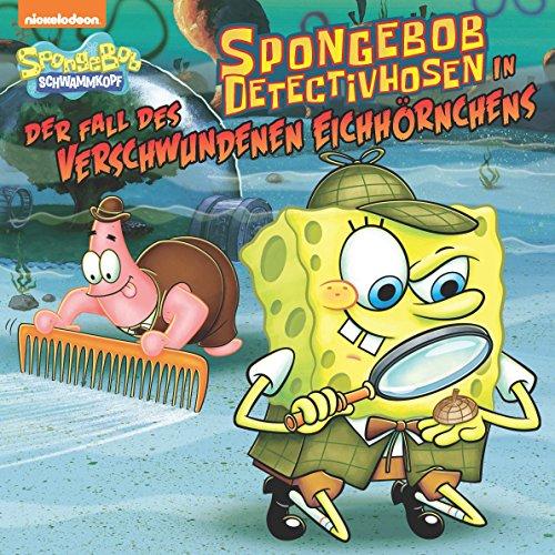 SpongeBob DetectivHosen in der Fall des Verschwundenen Eichhörnchens (SpongeBob SquarePants) - Fall Kindle Spongebob