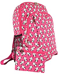 GFM® Happy Backpack Colourful for Casual Day Use, School, Gym, Holidays etc (6215)