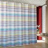 LILI Farbe Bar Duschvorhang Wasserdichtes Polyester Punch-Free Einfache Form Peva Verdickung Duschvorhang Sun Visor aus Dem Wasser von Quellensteuer - C 150 X 180 cm (59 X 71 cm)