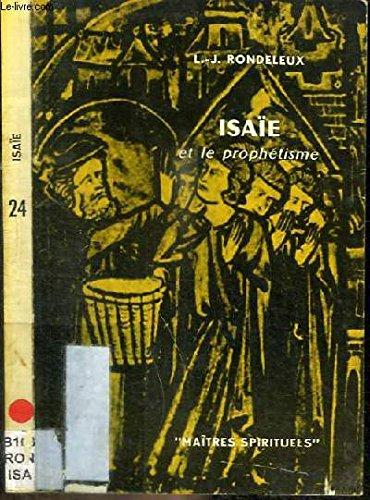 Isaïe et le prophétisme
