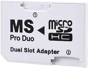 Leagy Psp Memory Stick Pro Duo Adapter Weiß Computer Zubehör