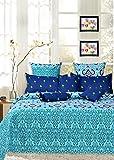 #7: Salona Bichona 100% Cotton (Extra Large) King Size Bedsheet Set.