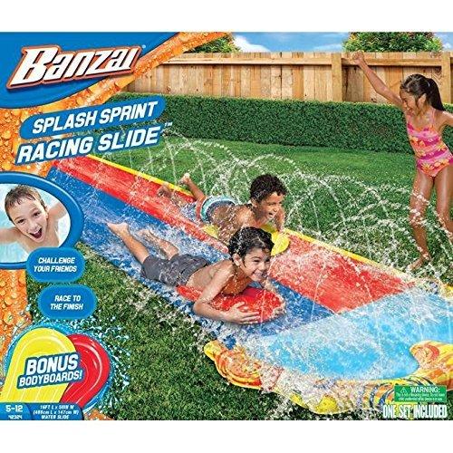 Banzai 16ft Splash Sprint Racing Water Slide