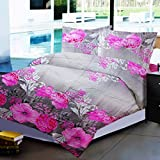 Dreaming Cotton Poly cotton Floral Doubl...