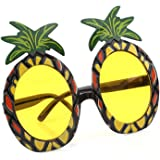 HENGSONG Pineapple Glasses Sunglasses Fancy Dress Up Glasses Party Accessory