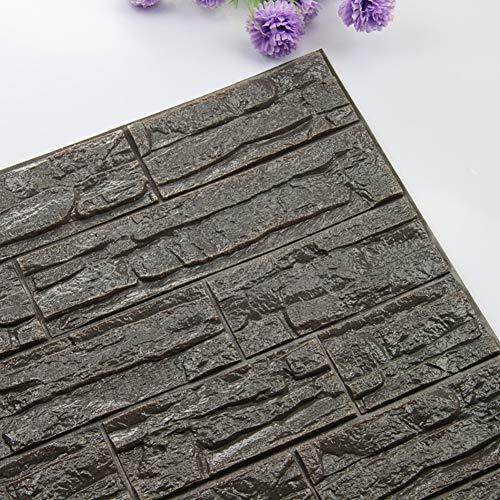 SUNRAY NH 3D del ladrillo del papel pintado