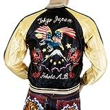 Tailor Toyo von Zuckerrohr USA Eagle Souvenier Suka Jacke tt11781119-toyo4232, Mehrfarbig