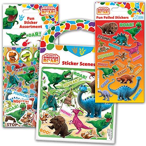 Paper Projects 01.70.24.040 - Juego de Pegatinas de Dinosaurio