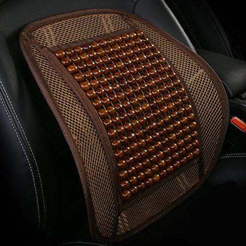 Zhhlinyuan Autozubehör Universal Fit Air Mesh Car Auto Office Chair Cooler Lumbar Support Cushion Back Massage (Lumbar Support Support Back)