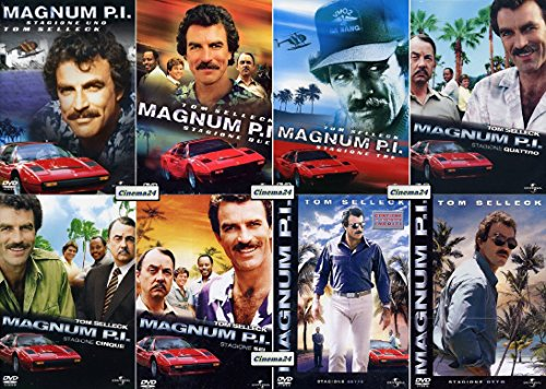 MAGNUM P.I. - Serie Completa - Stagion1 1-2-3-4-5-6-7-8 (45 Dvd)