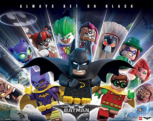 Poster Lego Batman - Always Bet On Black - 50 x 40 cm | PostersDE