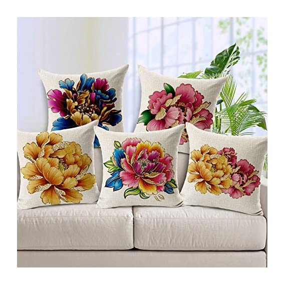 stepupp? Home Decorative Cushion Cover Sofa Cushion Cover Square Cushion Cover Set Cushion Cover for Gifts Cushion Cover