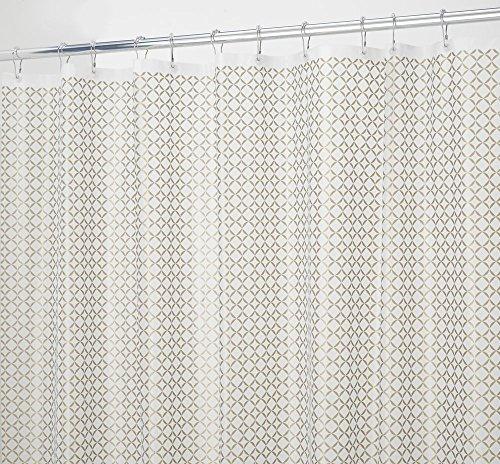 mDesign decorativo PVC in PEVA, Tenda per doccia, 180x 180cm,