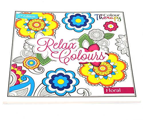 Adults Anti-Stress Famous People Extreme Colouring Book (Floral)