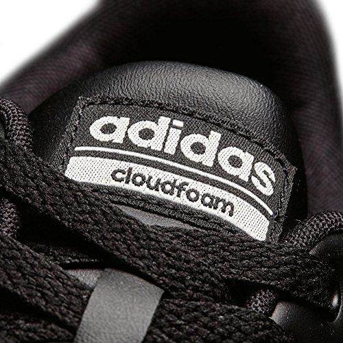 adidas Cloudfoam Advantage Clean, Scarpe da Ginnastica Uomo Nero (Negbas/Negbas/Blatiz)