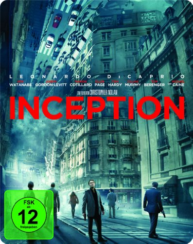 Bild von Inception Steelbook (Exklusiv bei Amazon.de) [Blu-ray]