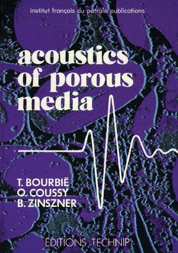 Acoustics of porous media par Thierry Bourbie, O. Coussy, Bernard Zinszner