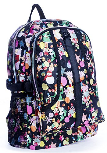 Big Handbag Shop ,  Unisex-Erwachsene Tasche Backpack 8130 - Winter Scene