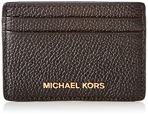 Michael Kors Money Pieces Portafoglio Donna, Nero (Black) 5x15x20 cm (W x H x L)