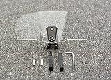 Tencasi Deflector de viento de parabrisas universal para motocicleta