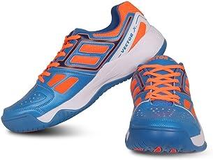Vector X TS-7000 Tennis Shoes (Blue-Orange)