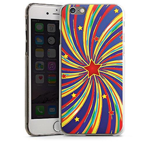 Apple iPhone 5s Housse Étui Protection Coque Étoile Étoile filante couleurs CasDur transparent